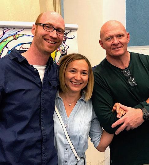 Jörg, Olga und Pavel